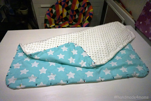 Одеяло летнее для новорожденного своими руками