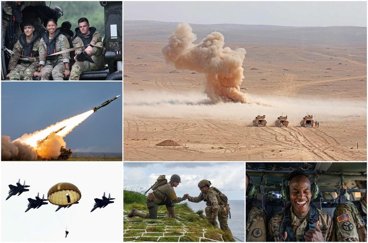 Американские военные опубликовали лучшие фотографии 2019 года