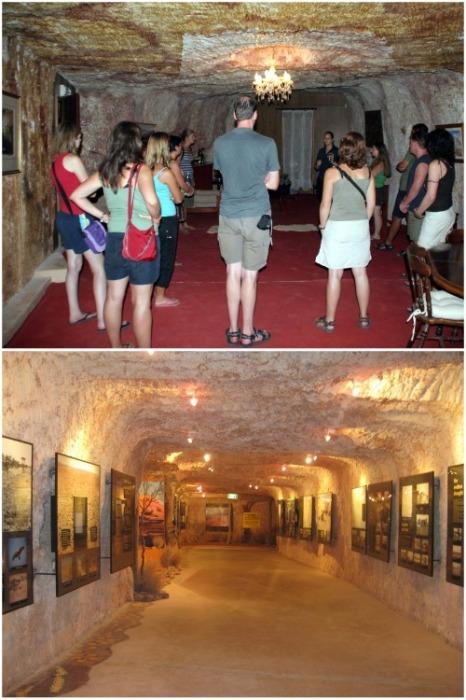 К услугам туристов открыт музей и художественная галерея (Кубер-Педи, Австралия). | Фото: ru.wikipedia.org.