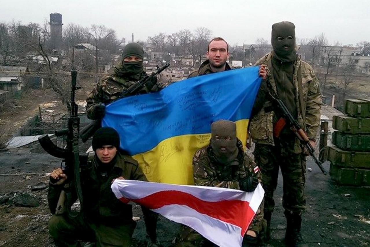 Белорусский боевик в АТО: Мы готовим создание вооружённых формирований на родине