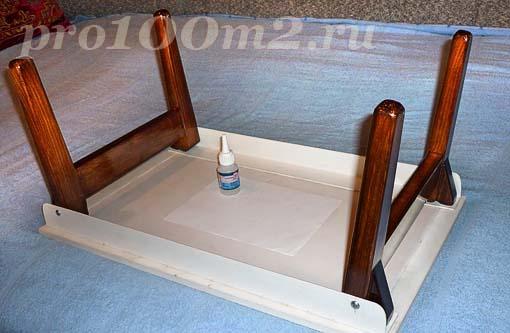 Своими руками кроватный столик