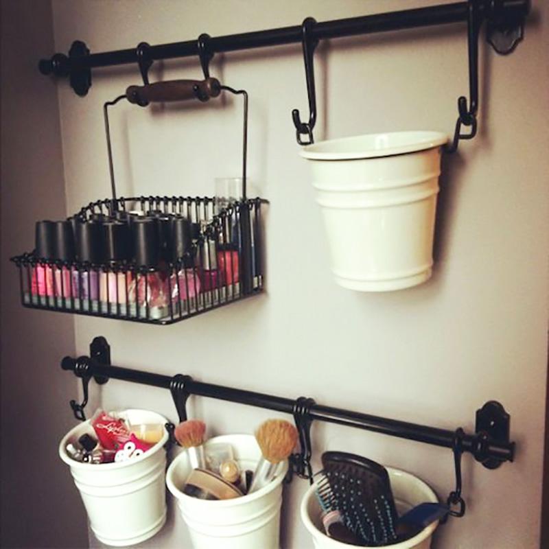 Блестящие идеи организации пространства в ванной комнате. № 7 просто покорил!