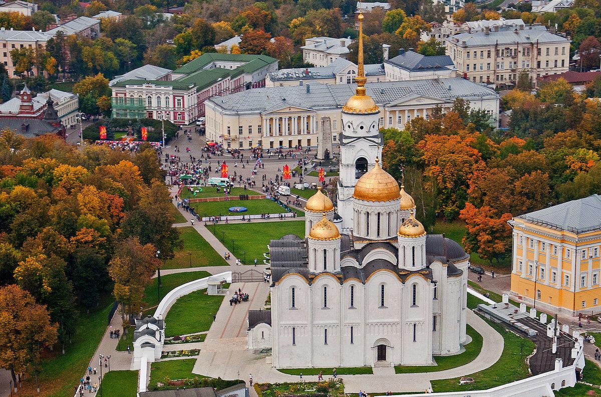 Центр города Владимир