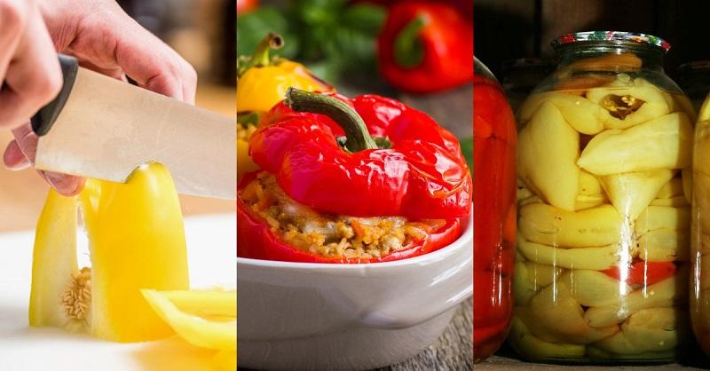 что приготовить из болгарского перца и помидоров