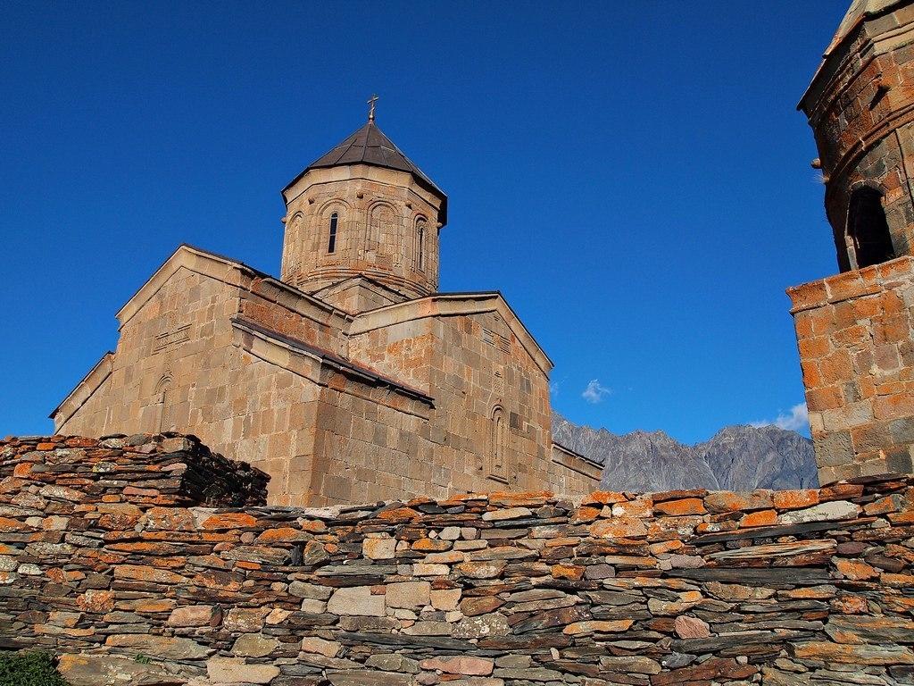 Гергетская церковь в Грузии