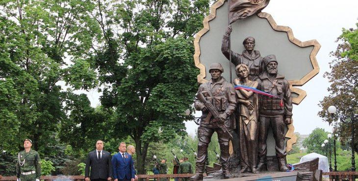 Очередная диверсия в Луганске – взорвали памятник погибшим ополченцам