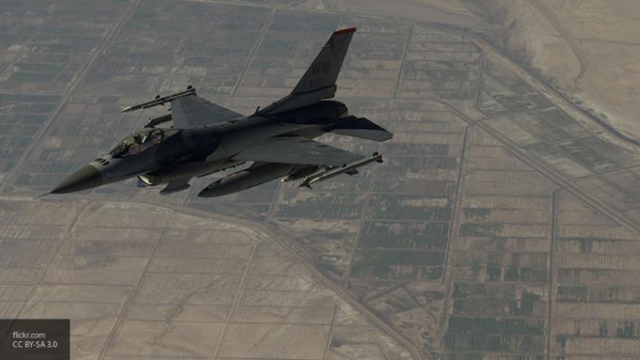 На территории Саудовской Аравии разбился истребитель F-16