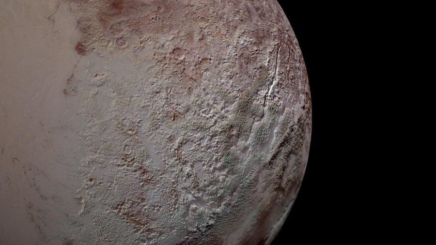 Раскрыта загадка зазубренной поверхности Плутона