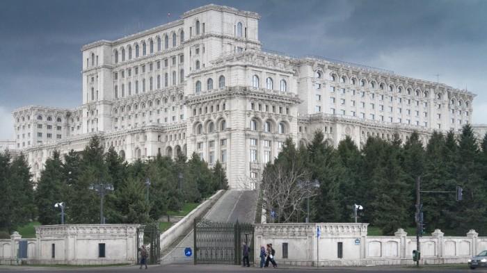 Дворец Парламента, Бухарест, Румыния.