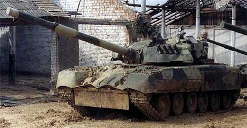 Т-80 имеет систему коллективной защиты от оружия массового поражения