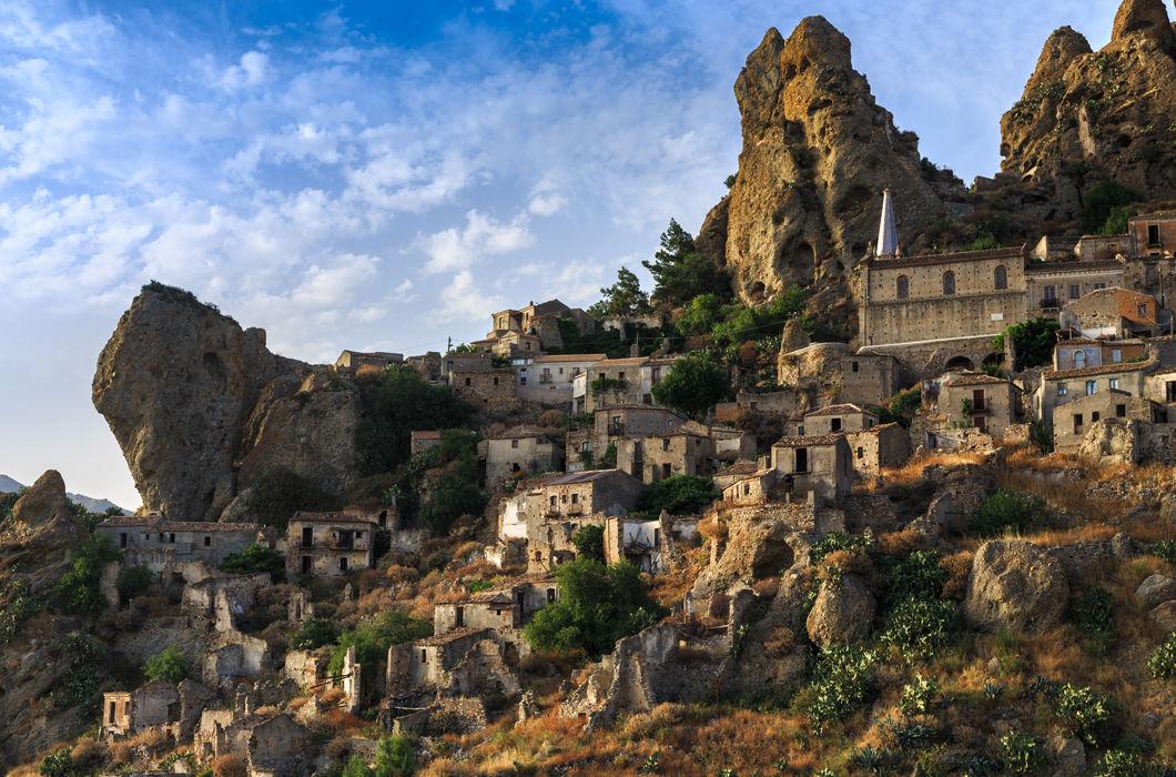 Красота пустующих деревень мира
