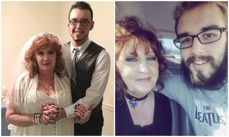 72-летняя бабуля вышла замуж за 19-летнего парня, и не скрывает своего счастья Любовь, истории, история, люди, разница в возрасте, семья, странные люди, что творится