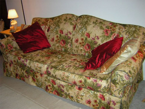 Чехлы на диван своими руками