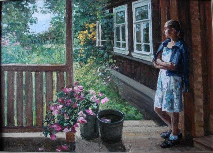 художник Ирина Рыбакова картины – 07