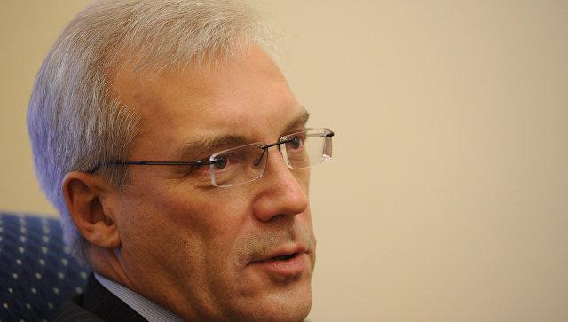 Грушко заявил о полном отсутствии прогресса в отношениях РФ и НАТО