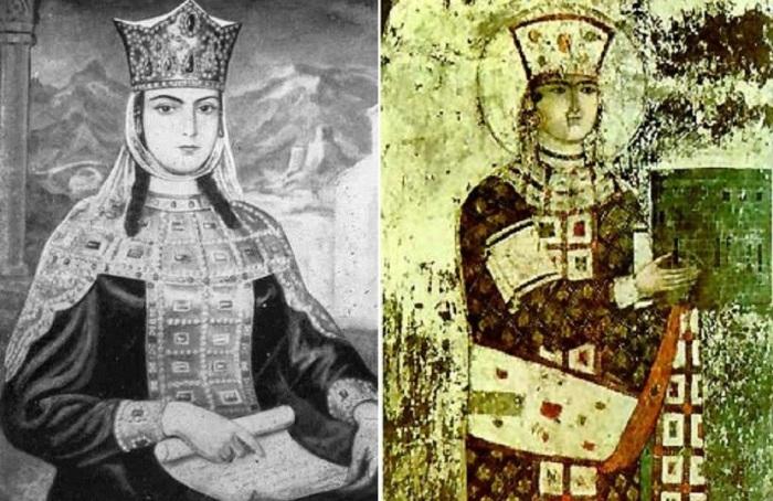 Тамара - царица Грузии.