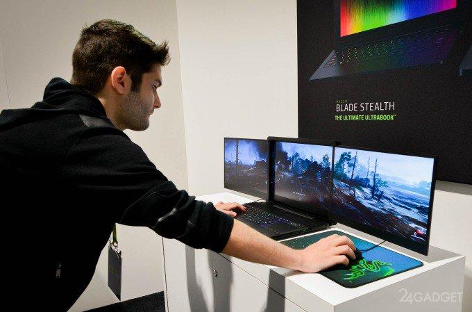 Украденный трёхэкранный ноутбук Razer нашёлся в Китае