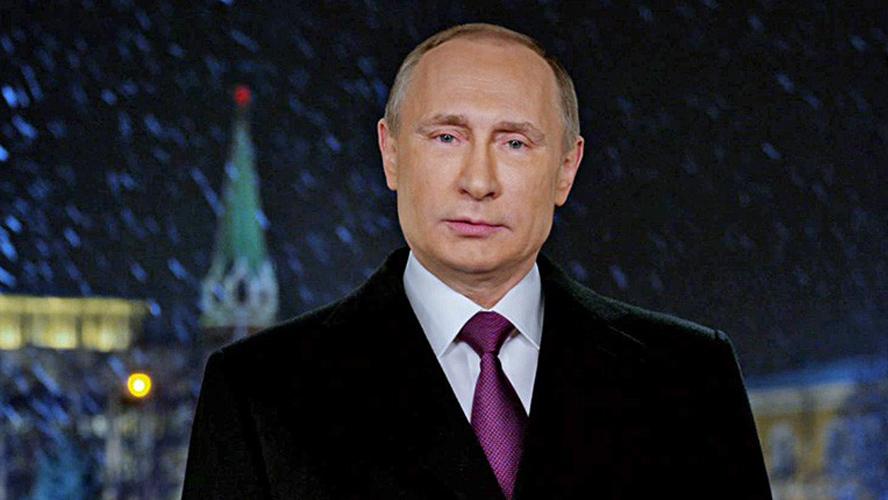 Новогодняя речь Путина и гра…