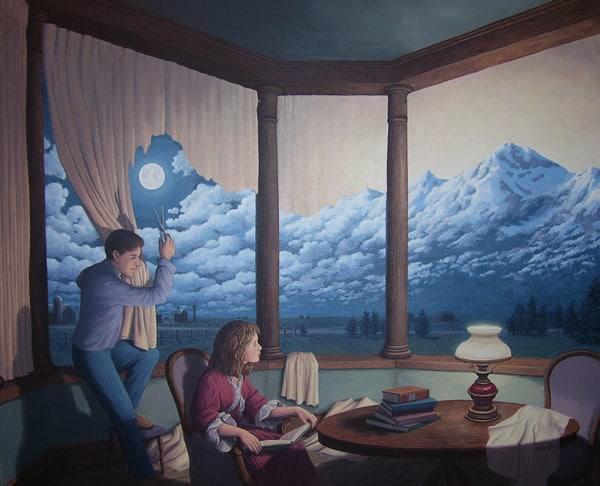 Сюрреалистичные картины, на которые стоит взглянуть дважды