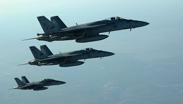 Самолёты коалиции США пытались помешать ударам ВКС России по ИГ в Сирии