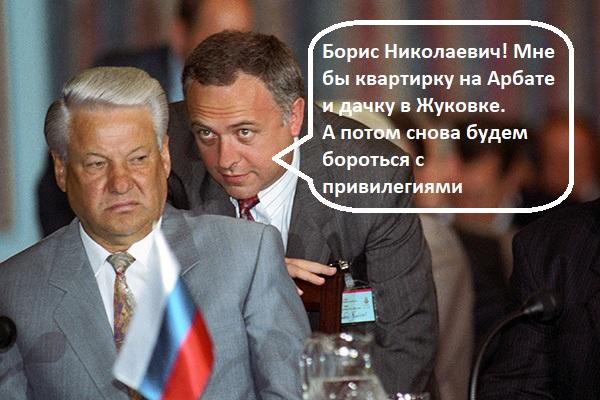 Голова Андрея Козырева. Миллионы долларов бывшего министра иностранных дел
