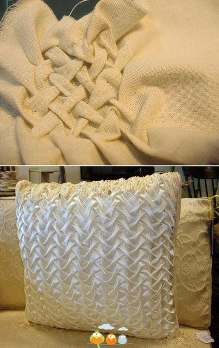 Декоративные подушки своими руками мастер класс фото 533
