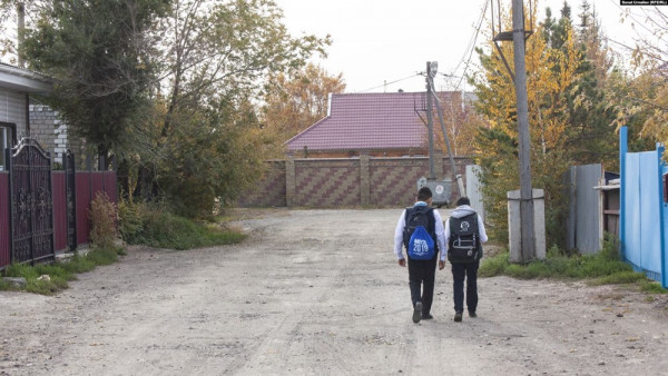 В сельской школе в Алтайском…