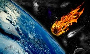 На Сибирь упал метеорит