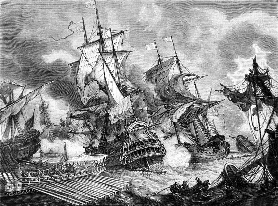 Зажгли в Палермо : битва в которой  погибло сразу шесть адмиралов