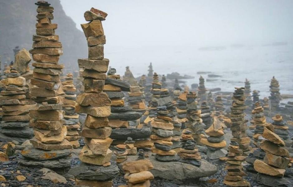 Загадочные пирамиды из камней на Дальнем Востоке