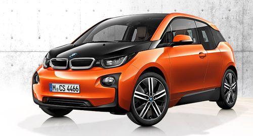 BMW наращивает объемы производства электрокара i3