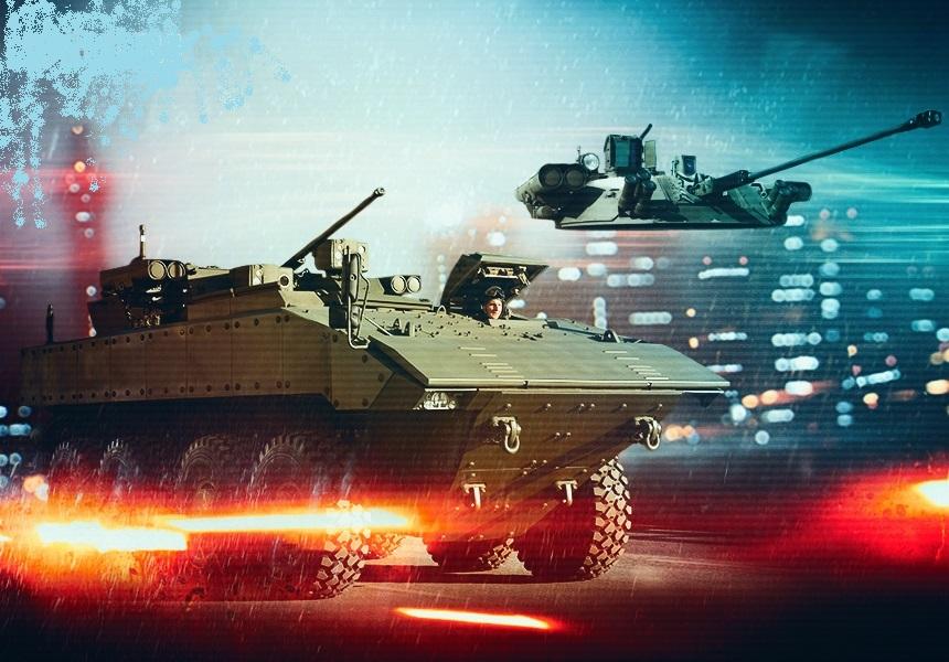 «Бережок» для Бумеранга: появились фото нового вооружения колёсной БМП