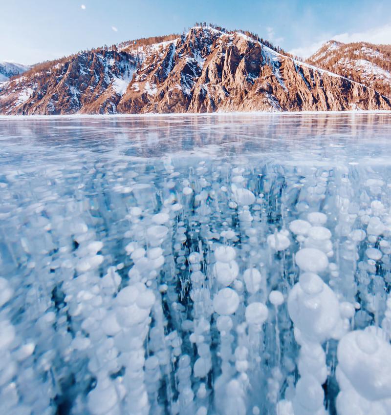 Замерзший Байкал: красота самого глубокого и древнего озера на Земле