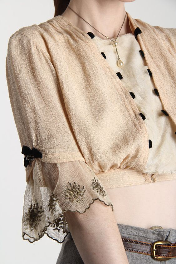 Блузки с оборками