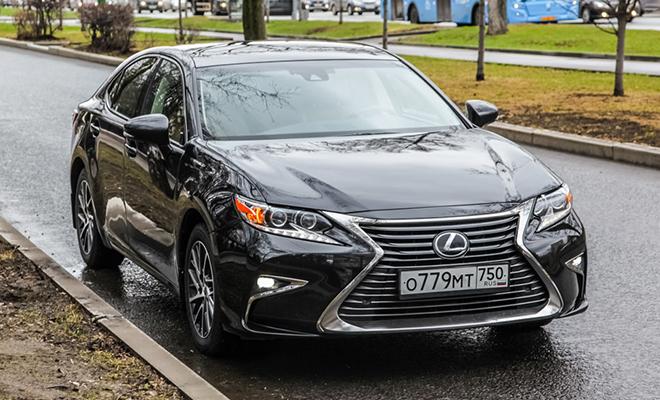 Тест-драйв: Lexus ES250