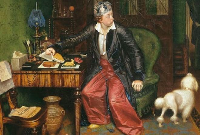 Завтрак аристократа: что скрыто в деталях знаменитой картины Павла Федотова