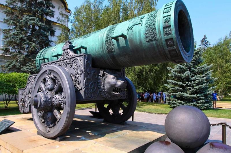 Самые большие пушки за всю историю человечества
