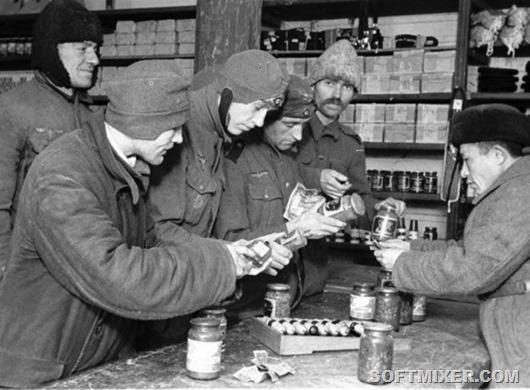 Немцы в плену после войны