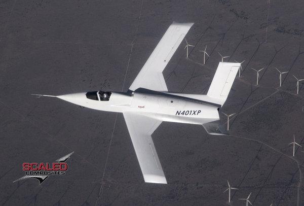 Экспериментальный летательный аппарат компании Scaled Composites