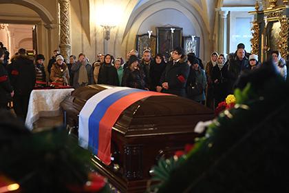 Члены кабмина и парламентарии простились с жертвами катастрофы Ту-154