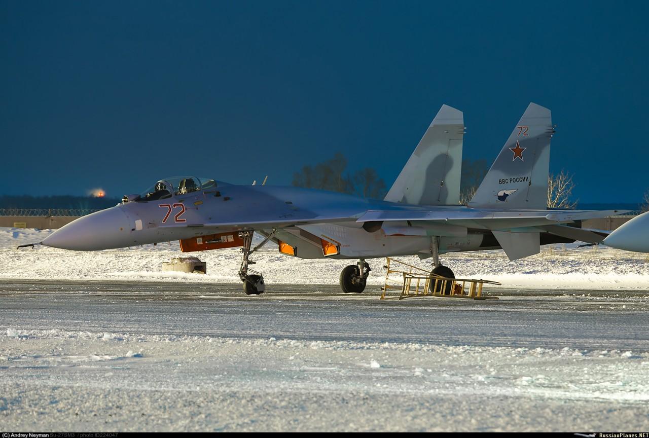Еще два модернизированных Су-27СМ(3)