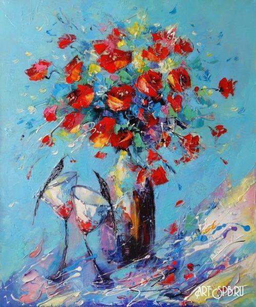 художник Лиана Моисеева картины - 14