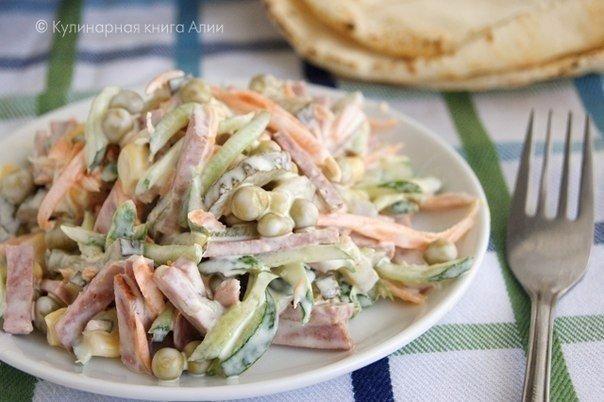 Подборка простых салатов на каждый день