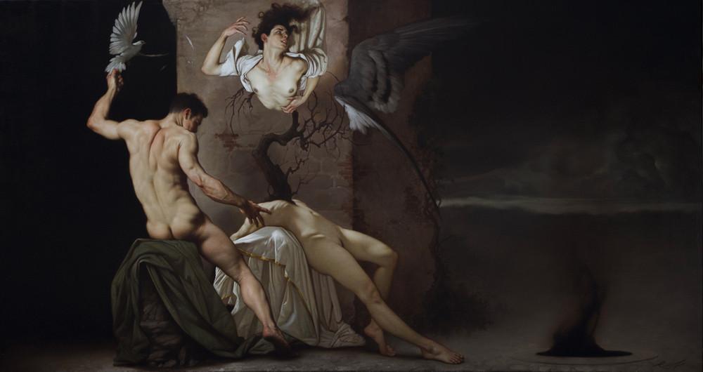 Роберто Ферри – Микеланджело, укушенный Дали 5