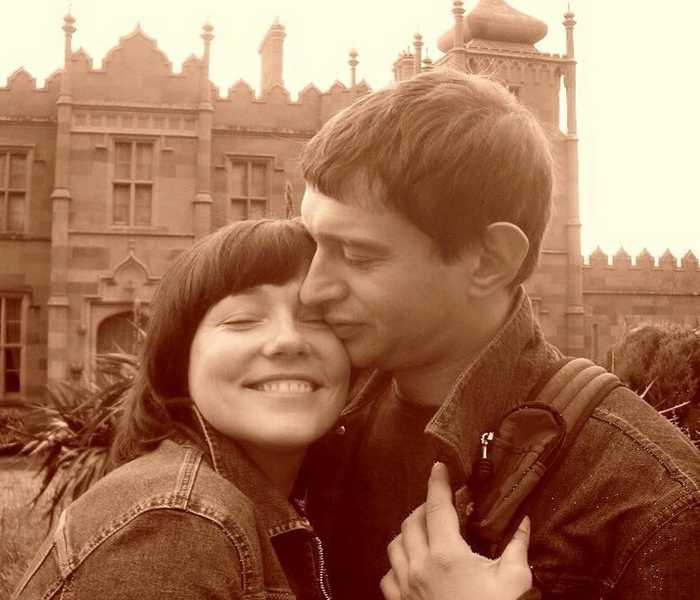 Анастасия Смирнова и Константин Хабенский. / Фото: www.woman.ru