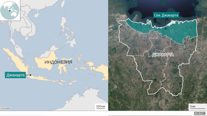 Времени почти не осталось: столица Индонезии погружается в воду