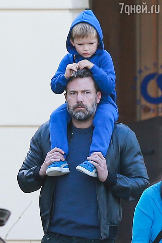 4-летний сын Бена Аффлека пострадал из-за принца Джорджа изоражения