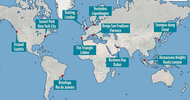 По мнению экспертов Lonely Planet, топ-10 городских районов выглядит так: Lonely Planet, города мира, путеводитель, районы, туризм, туристические