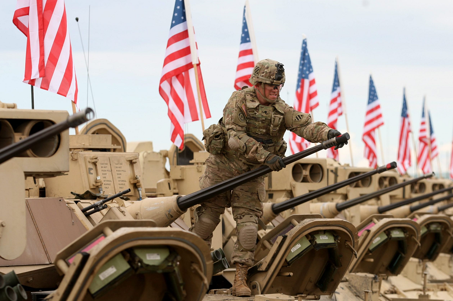 Американские войска, дорого! Для американских союзников настали тяжелые времена