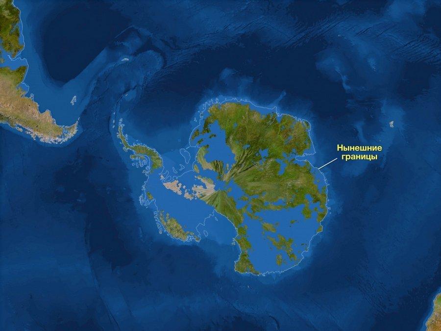 Какой будет Земля, если все ледники вдруг растают